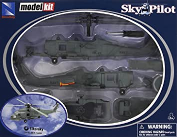 New Ray - 25585 - Maquette D'aviation - Sikorsky Sh-60 Sea Hawk - Echelle 1/60