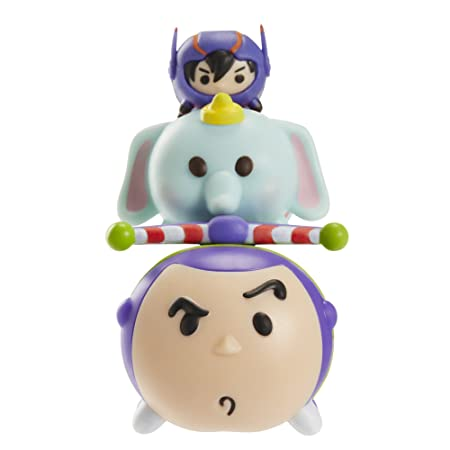 Tsum Tsum Series 2 Hiro, Dumbo, Buzz Lightyear 3-Pack Figurines