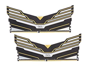 OLOy Warhawk RGB 16GB (2 x 8GB) 288-Pin DDR4 SDRAM DDR4 3200 (PC4 25600) Desktop Memory Model MD4U083216BEDA (Tamaño: 16 Gb)