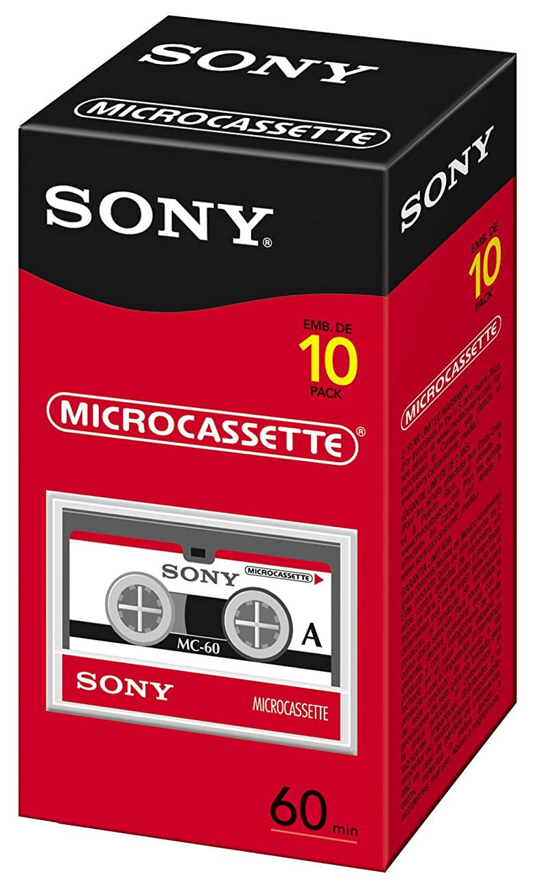Sony 60 Minute Micro Cassette 10-Pack (Discontinued by Manufacturer) 0