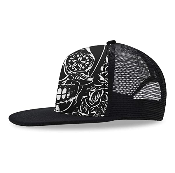 JTRVW Cowboy Hats Occupy Mars Plain Adjustable Cowboy Cap Denim Hat for Women and Men