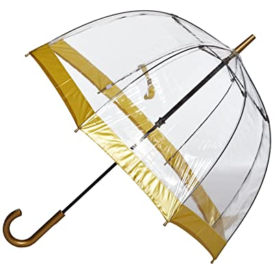 Gold Fulton Birdcage-1 Umbrella