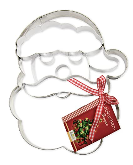 Birkmann 191310 Father Christmas Face Biscuit Cutter XXL