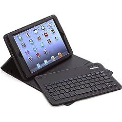 Aduro FACIO Case w/Bluetooth Removable Keyboard for Apple iPad Mini - Multiple Color