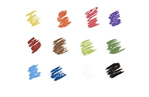 Prismacolor 27050 Premier NuPastel Firm Pastel Color Sticks, 36-Count (Color: 36-Count, Tamaño: 36-Count)