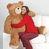 Vermont Teddy Bear - Giant Teddy Bear, 4 Ft Plush Bear Stuffed Animal, Brown (Tamaño: 4 foot Bear)