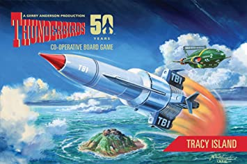 Thunderbirds Jeu de société d'extension : Tracy Island