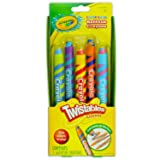 Play Visions Color Swirl Bathtub Twistables Crayons 5-Count per Pack (1-Pack) (Tamaño: 1 Pack)