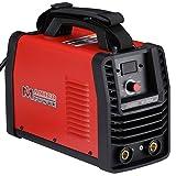 SF-200A, 200 Amp Stick Arc IGBT Digital Inverter DC Welder, 115V/230V Welding (Color: Red, Tamaño: Full Size)