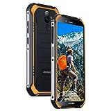 DOOGEE S40 LITE Rugged Smartphone Android 9.0, Dual SIM Free Mobile Phones Outdoor 2+16GB, 5.5 Inch IP68/IP69K Waterproof, 4650mAh Battery 8+5MP Dual Cameras Fingerprint Face ID Unlocked Phone, Orange (Color: S40 LITE Orange, Tamaño: S40 LITE)