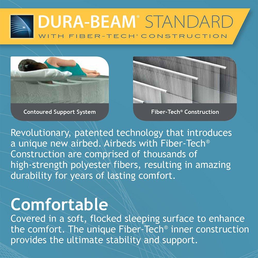 Intex Dura-Beam Standard Series Pillow Rest Raised Airbed w/ Built-in Pillow & Electric Pump