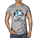BMW R50 Vintage MOTORCYCLE BIKER Mens Top Dry Grey T-Shirt