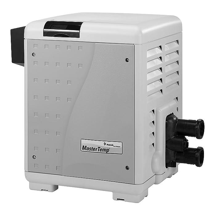 Pentair 460732 MasterTemp High Performance Eco-Friendly Pool Heater, Natural Gas, 250,000 BTU