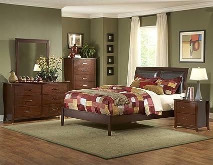Homelegance Rivera PU Bedroom Collection 1440PU-BED-SET