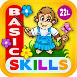 Abby Monkey Basic Skills Preschool Adventure with Toy Train Vol 1: Learning Fun Educational Kids Games All in One (letters, numbers, colors, shapes, patterns, 123s counting and ABCs reading) for Toddlers & Kindergarten Explorers! by 2 2 learn Lite