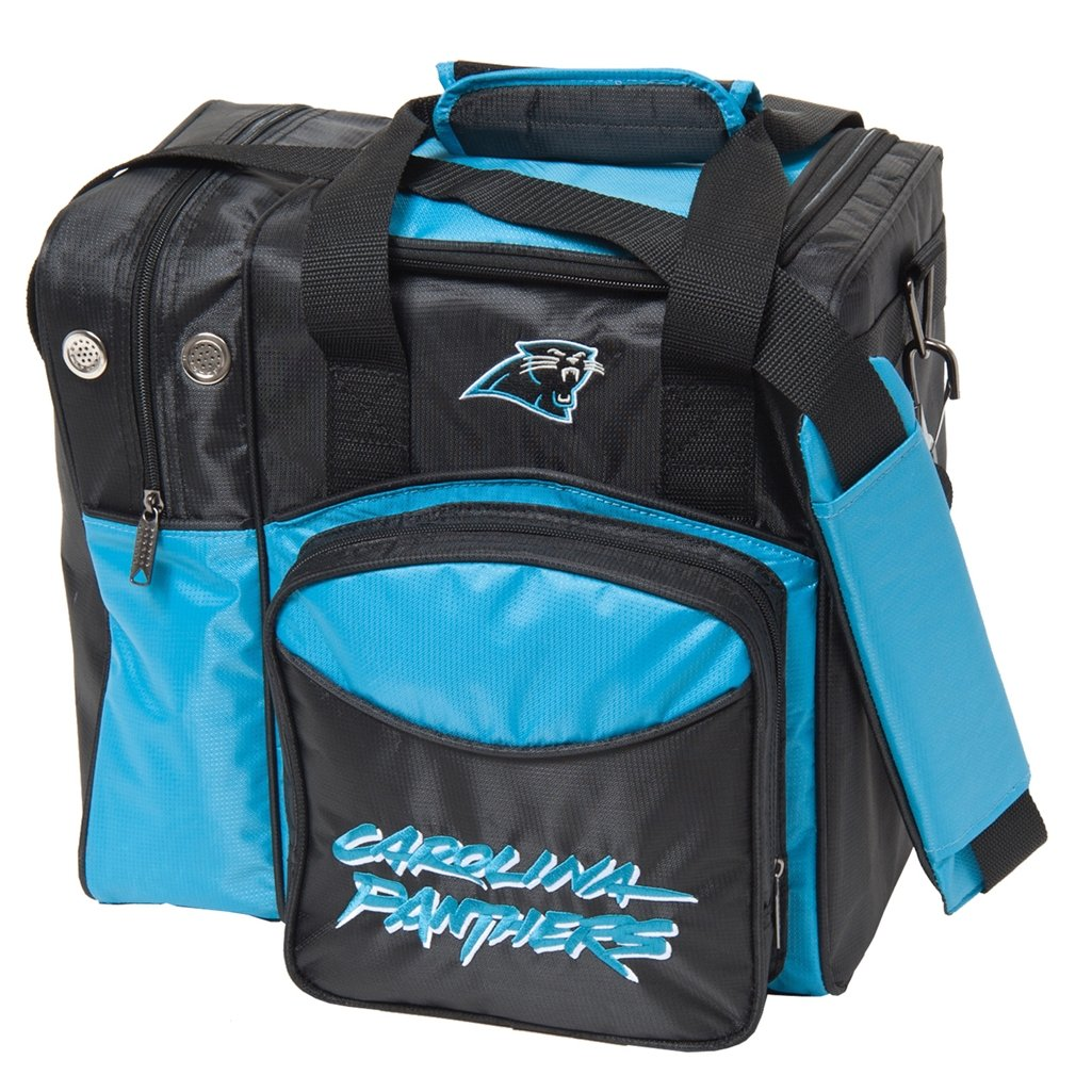 Carolina Panthers NFL Single Bowling Bag aa130 bubble giant inflatable bowling pin and ball inflatable human bowling for adults and kids airtight inflatable bowling ball