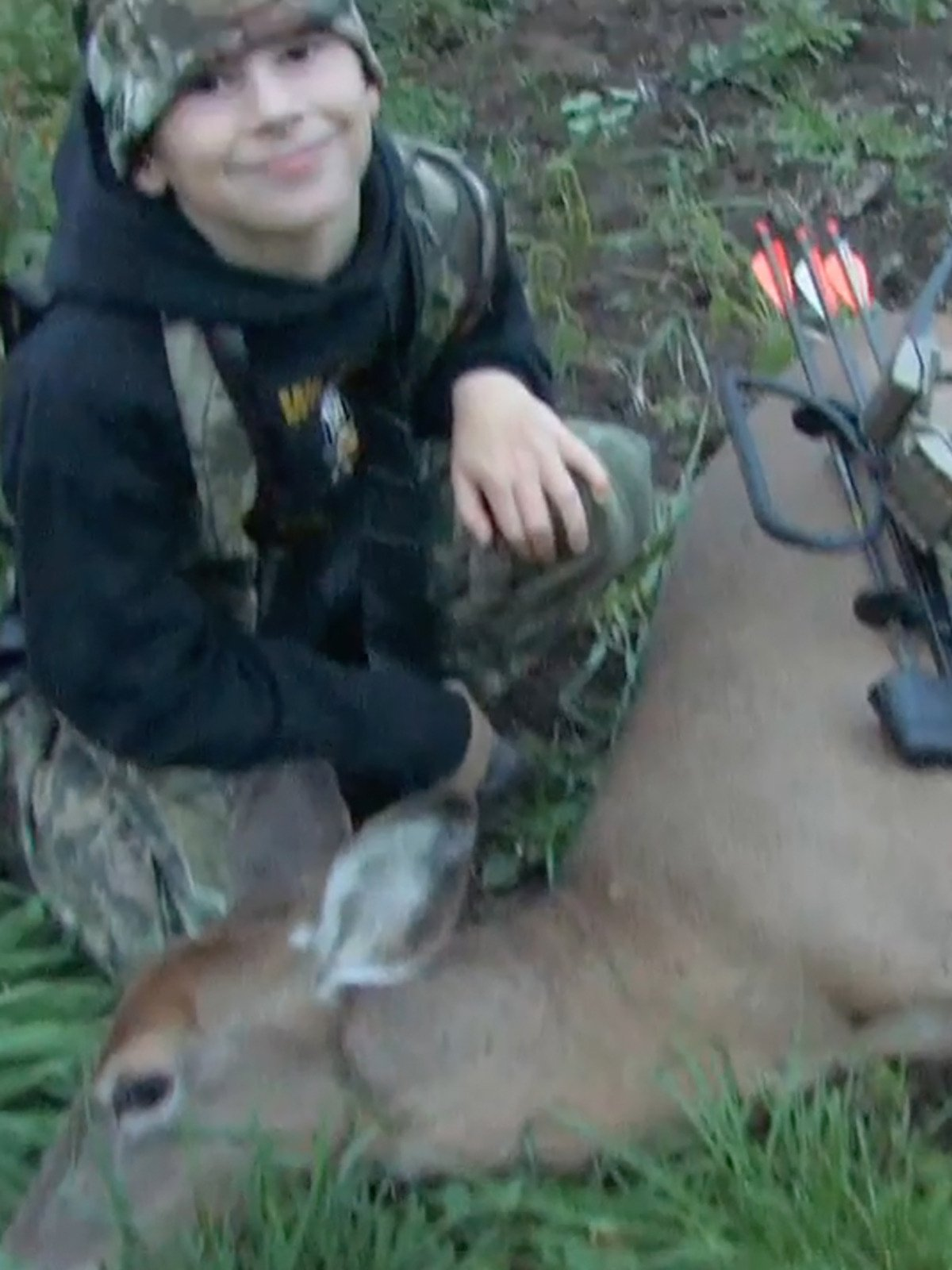 A Kids Very First Deer