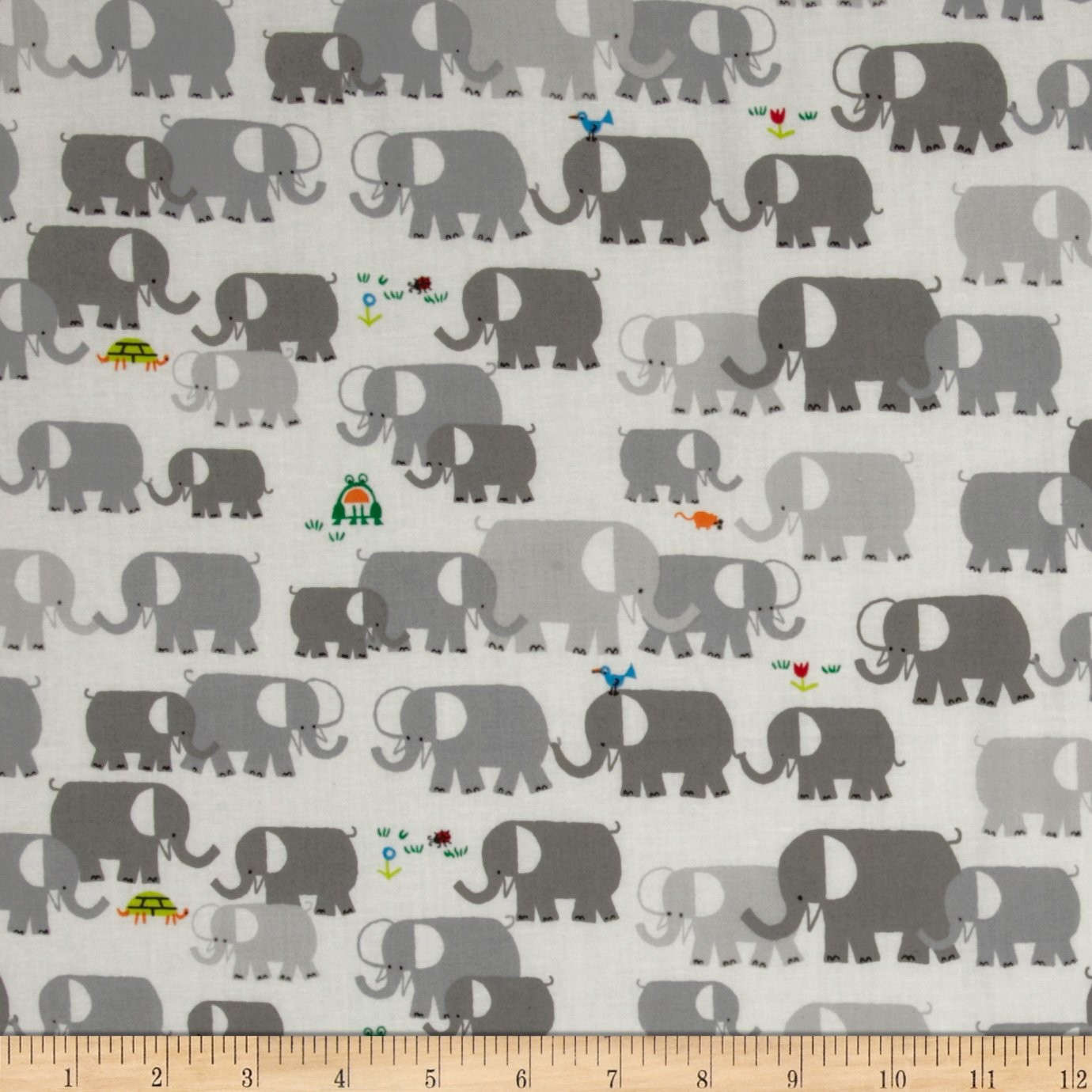 Happy Drawing Organic Elephant Grey Fabric [show z store] [pre order] cloud 9 w 01c quakeblast clear version c9 cloud9 quakeblast quake blast transformation action figure