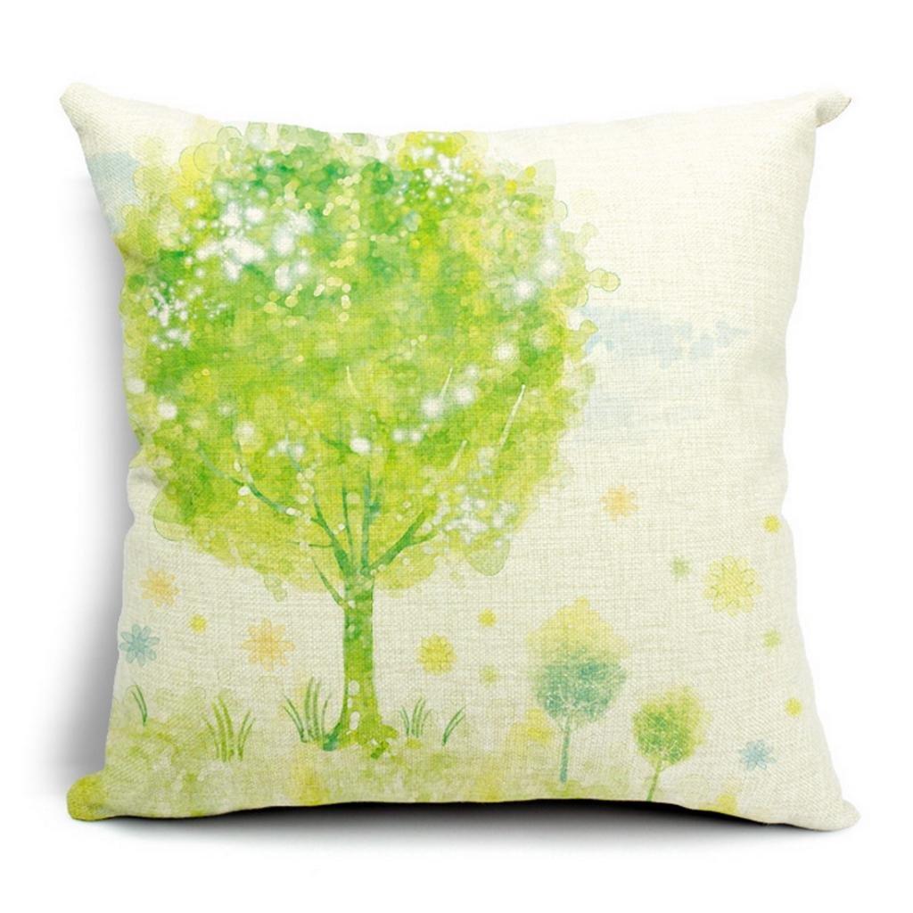 V-SOL Funda Para Cojín / Almohada De  Decorativa De Flores #3 Color   Comentarios y descripción más