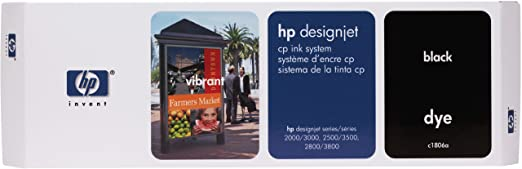 HP C1806A Designjet CP Ink System  Kit encreur CP Noir
