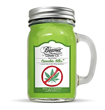 Cannabis Killer Scented Candle—90-hour burn time