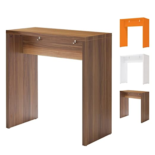 Amstyle Meeting Point, mesa de madera, mesa de reuniones en 3colores) (ciruelo
