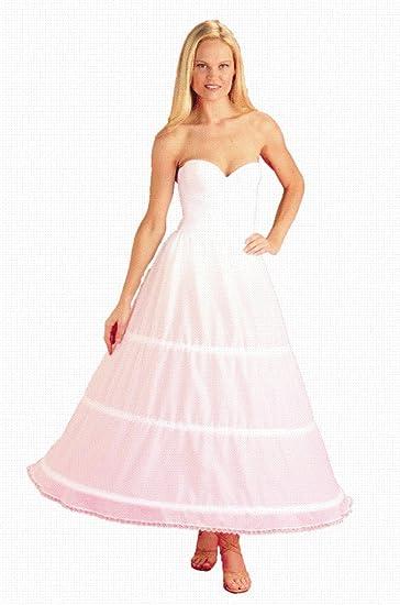 New 3 Tier 2 Bone Hoop Floor-length Bridal Wedding Dress Gown Slip Mermaid Trumpet Small Fishtail Petticoat