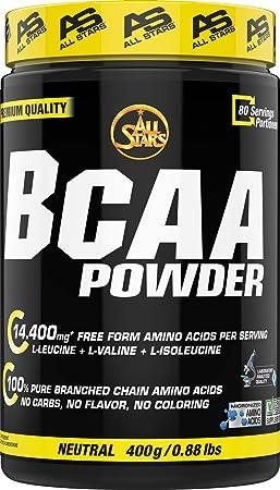 All Stars BCAA Powder, 1er Pack (1 x 400 g)