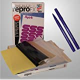 USA Premium Store 25 Spirit Repro FX Stencil Thermal Tattoo Transfer Copy Paper Free Marker kit