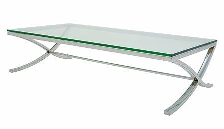 Felix Coffee Table Stainless Steel by Nuevo - HGTA622
