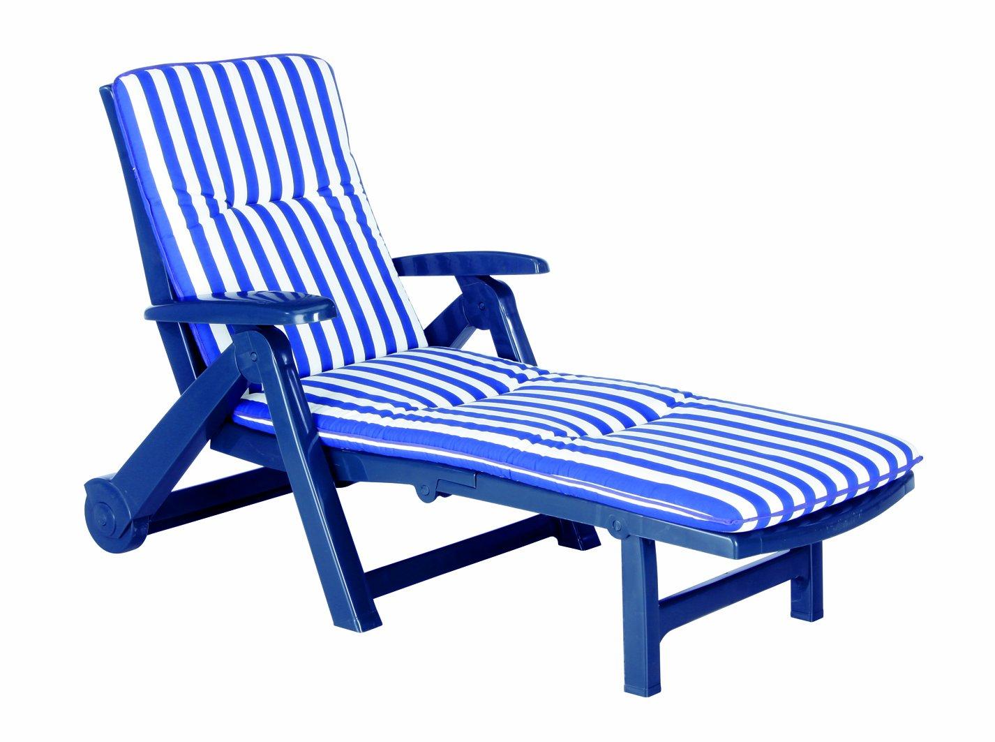 BEST 96406822 Rollliege Charleston inklusive Auflage, D.0268, blau kaufen