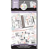 me & my BIG ideas Sticker Value Pack - The Happy Planner Scrapbooking Supplies - Free Spirit Theme - Multi-Color - Great for Projects, Scrapbooks & Albums - 30 Sheets, 813 Stickers Total (Color: Multi)