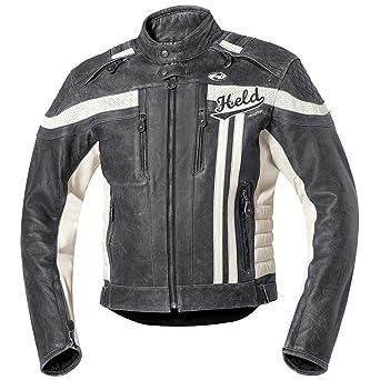 Held - Blouson moto homme en cuir vachette Harvey 76 Held ref_hel35384