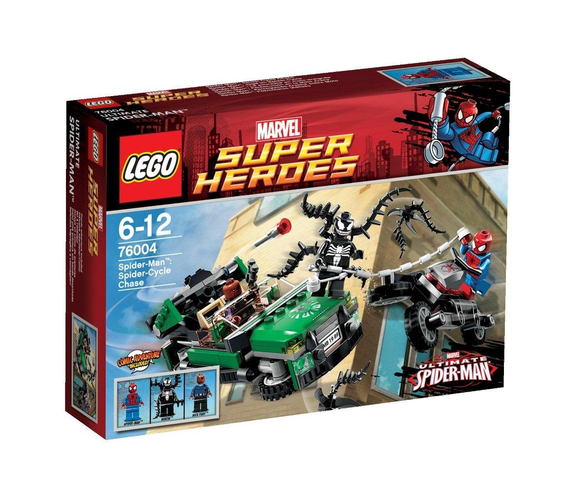 LEGO 76004 - Spider-Man, Jagd im Spider-Cycle