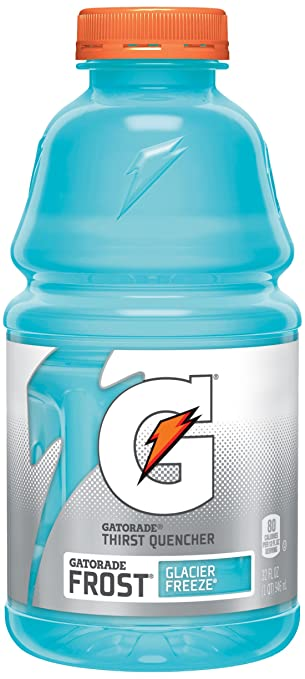 Gatorade Frost Thirst Quencher, Glacier Freeze, 32 oz