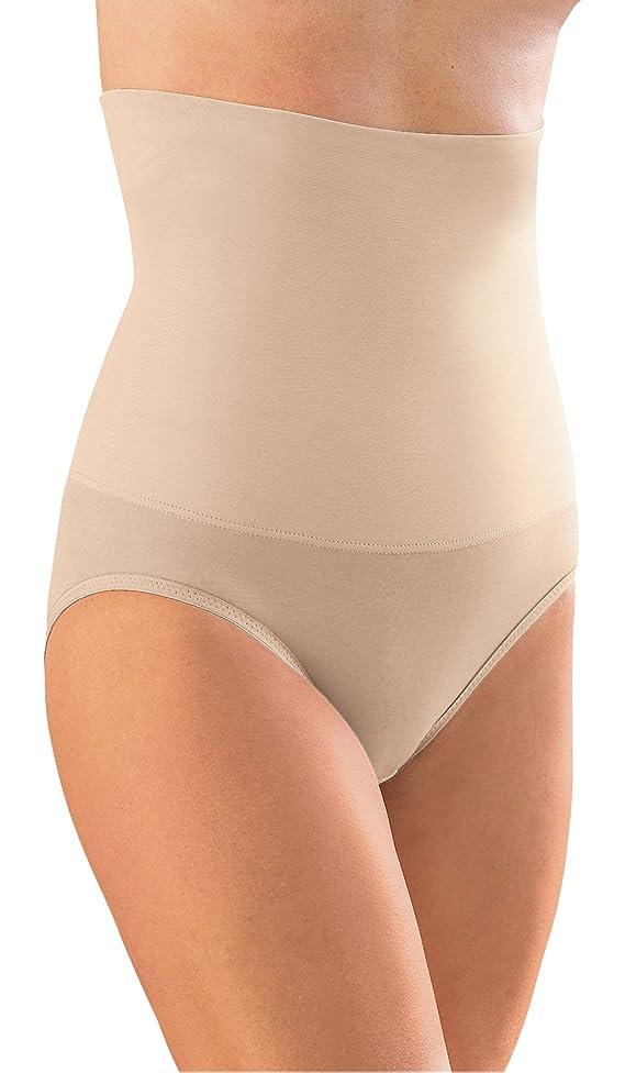 Glamorise Hi-Waist-Slimmer Smoothing Full-Back Panty