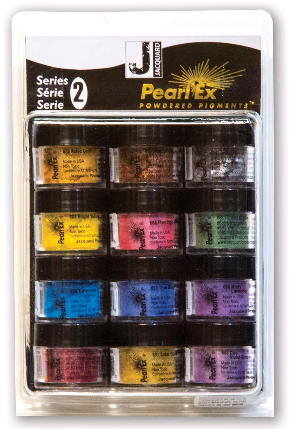 Pearl Ex Pigment Series Ii 12 Color Set
