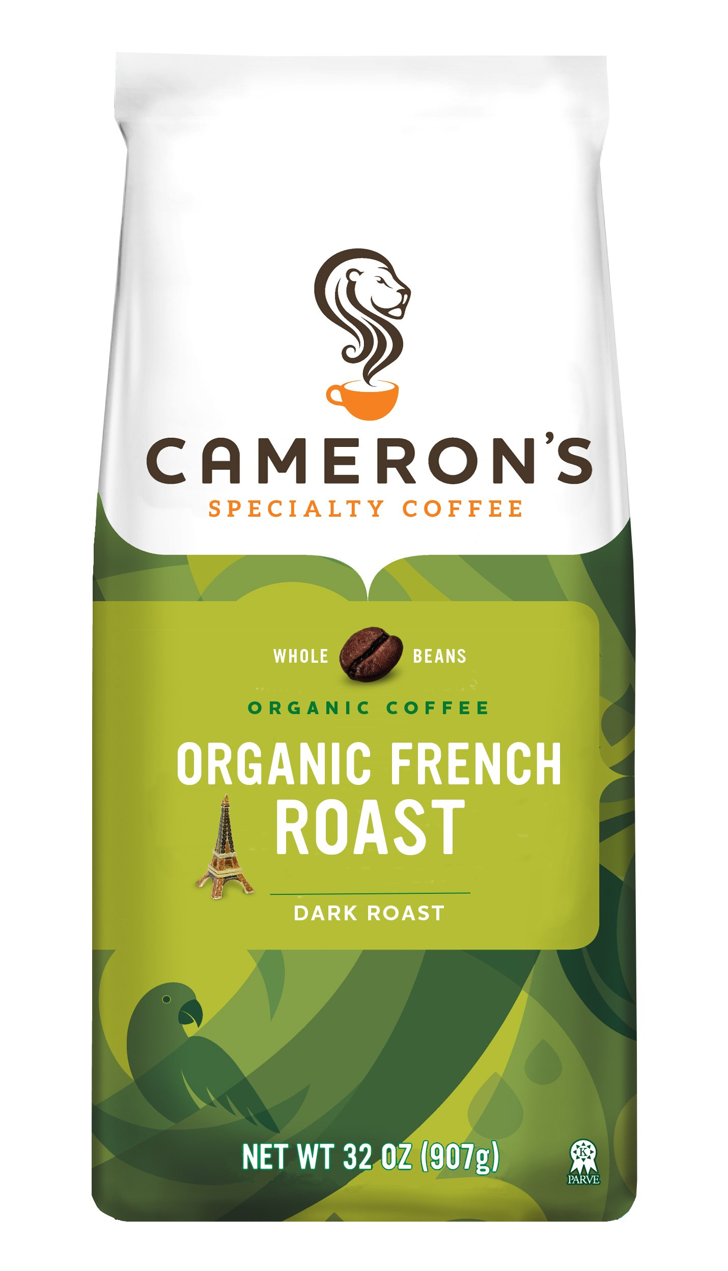 Cameron's Organic Whole Bean Coffee