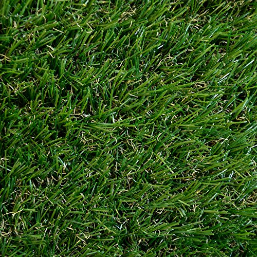ICustomRug Indoor / Outdoor Artificial Grass Shag, 8 Feet