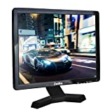 JaiHo 17 Inch Widescreen TFT LCD Monitor, 1280x1024 Resolution 1080P 4:3 Full HD Monitor Color Display Screen with PC/BNC/VGA/AV/HDMI/USB Earphone Input, Built-in Dual Speakers (Color: 17 inch 1280x1024, Tamaño: 17'' 1280x1024 LCD)