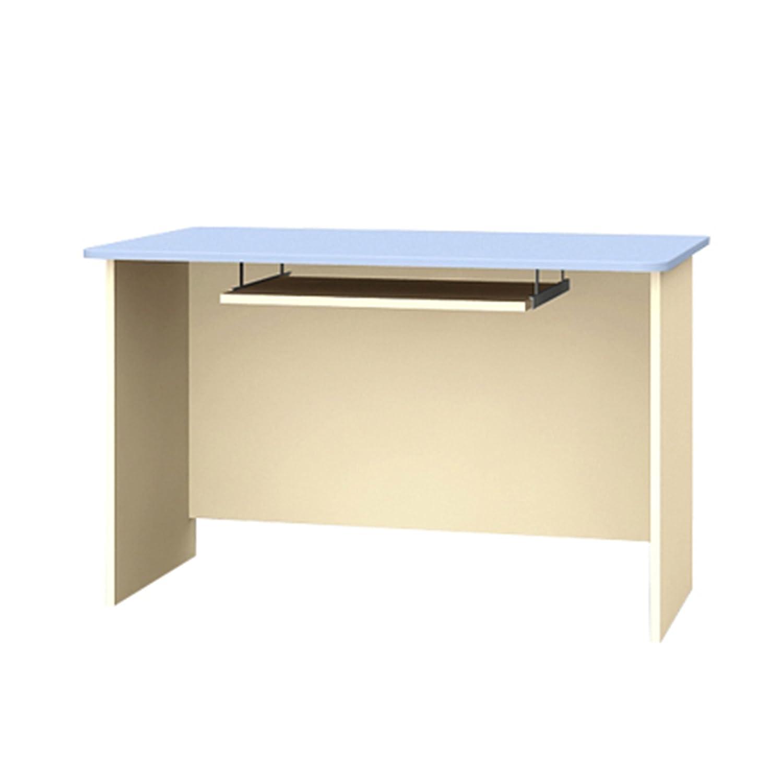 Schreibtisch mit Tastaturablage Kinderschreibtisch DINO WORLD 120x70x75cm blau beige B-120
