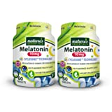 Nature's Essentials Melatonin 10mg (3mg Immediate Release & 7mg Extended Release) with Advanced Cyclosome™ Liposomal Delivery Technology - 60 Tablets (2 Pack)