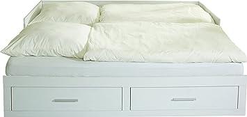 Phönix 416204WE Tagesbett Holz 200 x 90 x 50 cm, weiß