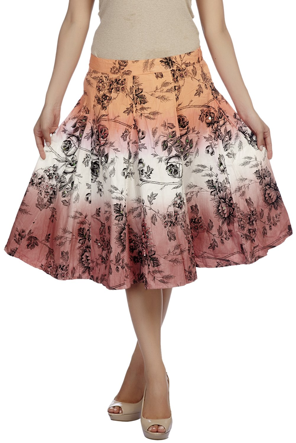 Cappadocia Women's Cotton Skirt