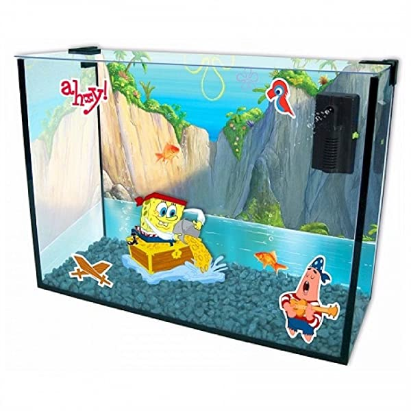 Penn Flax SpongeBob Paradise Cove Tank and Aquarium Kit Review