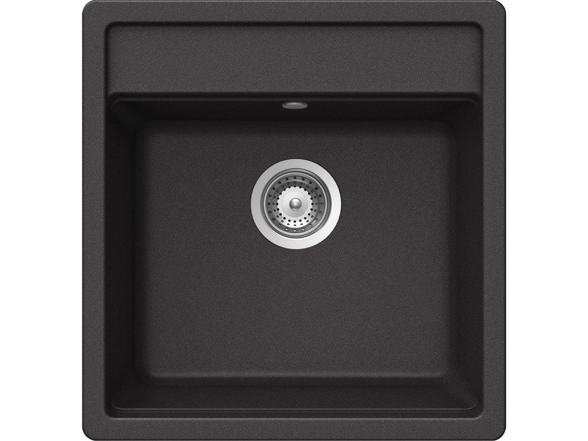 Schock Nemo N100 S A Nero Granit Spüle Schwarz Auflage Einbaubecken Küchenspüle   Kundenbewertung und weitere Informationen