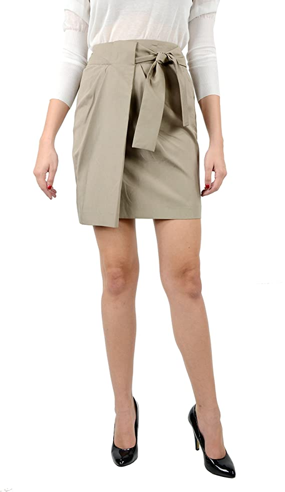 Gucci Women's Short Skirt Taupe