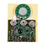 GOTOTOP 30s Recordable Music Sound Playback Module Voice Module Chip Voice Module Recording 0.5W with Button Battery (Photosensitive Control) (Color: Photosensitive Control)