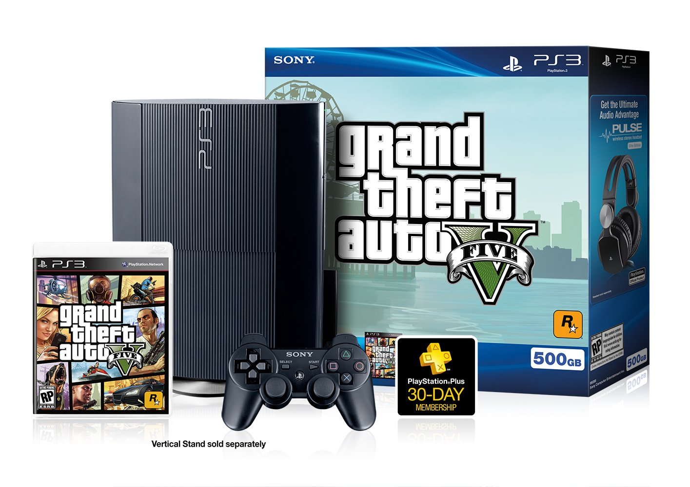 Gta 5 Playstation 3 : Confused about the gta v bundle ign boards