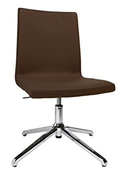 Topstar Sitness Cube SEA190L59 Conference / Visitor's Chair with Dark Brown Fabric Cover